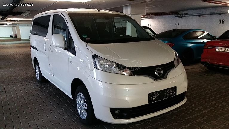 Nissan NV 200 '16 Evalia* Navi*7θεσιo*Euro6