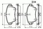 Bosch 0 986 494 663  Σετ Τακακια Μπροστα M-B-A-B-CLASS-2011--thumb-0