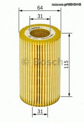 Bosch 1 457 429 263 Φιλτρο ΛΑΔΙΟΥ-MERCEDES-SLK