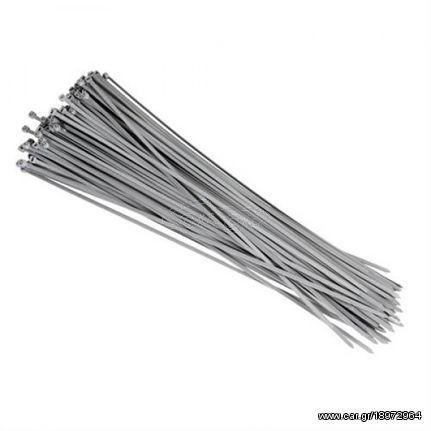 Lampa Πλαστικά Δετικά 100 Τεμαχίων Γκρι L70002