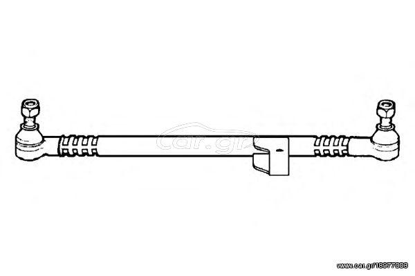 Ocap Μπαρα Τιμονιου Κεντρικη Mercedes S-CLASS W126 -91 Ocap
