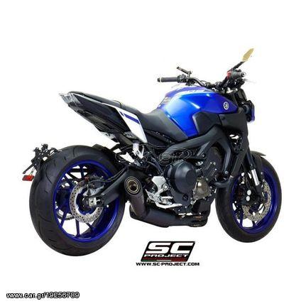 Sc Project Ολόσωμη Εξάτμιση 3-1 S1 Matt Black Yamaha MT 09 2017 - 2019