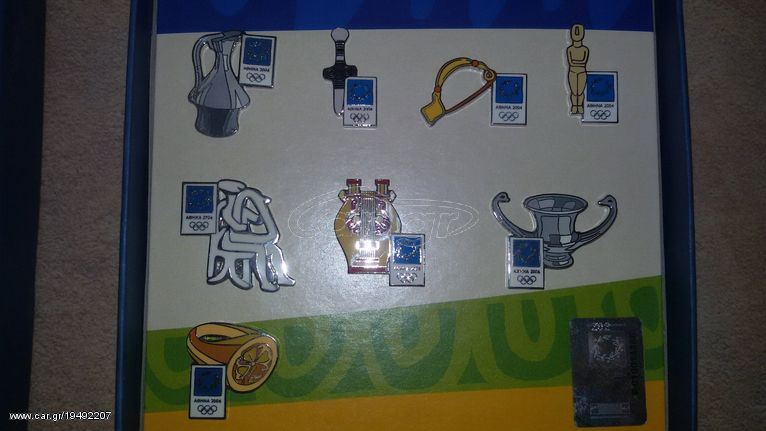 PINS ATHINA 2004 ΑΡΧΑΙΑ ΕΛΛΑΔΑ
