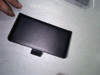 SONY XPERIA XZ1 Wallet Δερμάτινο Μαύρο (Xperia XZ1 Compact)