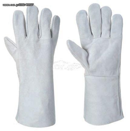 Ecopro NoA511 Γάντια Προστασίας Ηλεκτροσυγκολλητών 35cm (One Size)