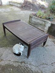Τραπέζι κήπου βεράντας τικ 70χ120