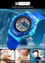 Ρολόι χειρός παιδικό SKMEI 1477 BLUE