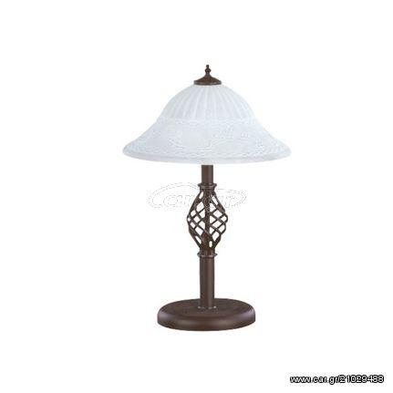 Πορτατίφ 2Φ Σε Σκουριά Και Λευκό Χρώμα Trio Lighting Rustica 5602021-24 , 5602021-24
