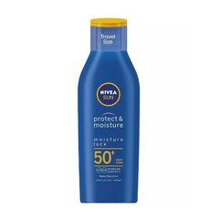 Nivea Sun Protect & Moisture Sun Lotion Spf30 Water Resistant Travel Size 100ml