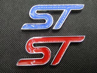 Ford ST Αυτοκόλλητο Μεταλλικό