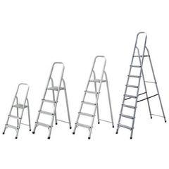 Σκάλα αλουμινίου 5 + 1 σκαλιά BULLE SA5+1
