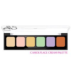 GOLDEN ROSE Correct & Conceal - Camouflage Cream Palette