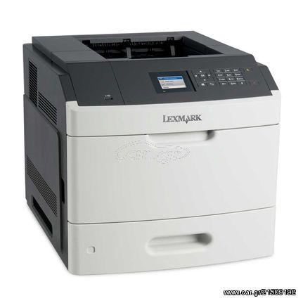 LEXMARK used Printer MS811DN, Laser, Mono, no toner, no drum