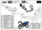 Mivv Ολόσωμη Εξάτμιση 4-2-1 Suono S.Steel/Carbon End Suzuki GSXR 600/750 2011 - 2019-thumb-3