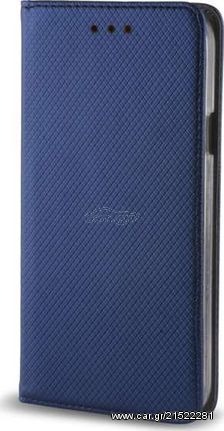 OEM  Θήκη Βιβλίο Smart Magnet Για Samsung Galaxy A7 2018 Μπλε