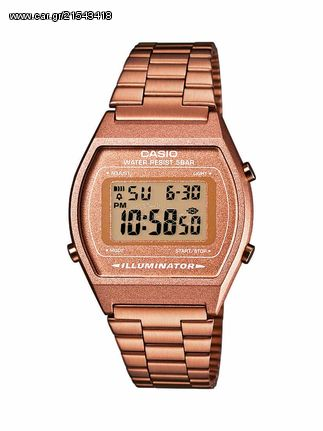 Casio Casio Collection Rose Gold Stainless Steel B-640WC-5A