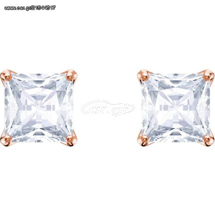 Swarovski Swarovski Attract Σκουλαρίκια, Επιροδιωμένα-Ροζ Χρυσό Με Κρύσταλλα 5431895