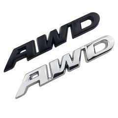 AWD αυτοκόλλητο μεταλλικό για Toyota,Honda,Subaru.....