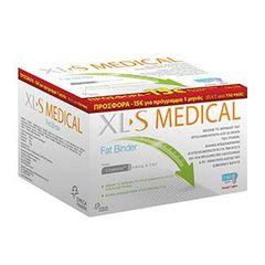Omega Pharma - XL-S Medical Fat Binder 180 tabs & Δώρο 60tabs