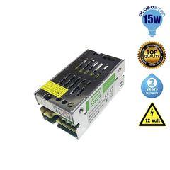Τροφοδοτικό LK 15 Watt 12 Volt DC Ρυθμιζόμενο (74550)