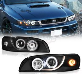 ANGEL EYES ΜΑΥΡΑ ΓΙΑ SUBARU IMPREZA MEANEYE (1993-2000) | ® STREETBOYS - CAR TUNING SHOP