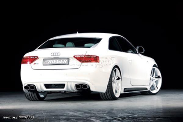 RIEGER Πίσω Σπόιλερ Carbon Look Audi A4 B8