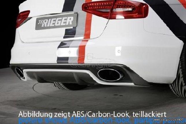 RIEGER Πίσω Σπόιλερ Audi A4 B8