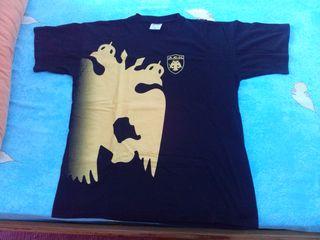 Μπλούζα της ΑΕΚ,νούμερο XL Τιμή 15,00 ευρω.