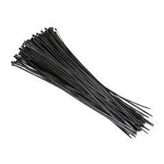 Πλαστικά Δετικά 100 Τεμαχίων Μαύρα