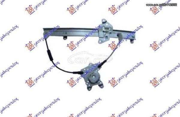 Γρύλλος Παραθύρου Εμπρός Μηχανικός (Sedan) Δεξιός Nissan Sunny Liftback (N14) 1992-1995 (076607041)