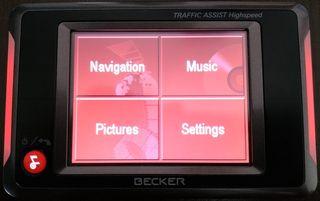 GPS Becker Traffic Assist Highspeed