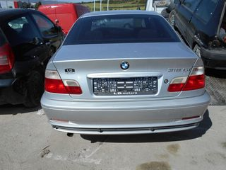 BMW 318 E46 1900CC 194E1 SEDAN KAI COUPE ΠΩΛΟΥΝΤΑΙ ΑΝΤΑΛΛΑΚΤΙΚΑ ΜΗΧΑΝΙΚΑ ΚΑΙ ΦΑΝΟΠΟΙΕΙΑΣ