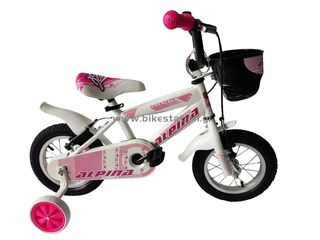 "Alpina '21 Ποδήλατο παιδικό  Girls 12"" 2021 WHITE - ΡΟΖ"