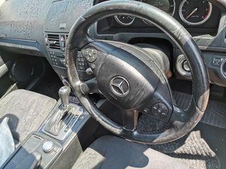 Τιμονι και κεντρικη κονσολα απο Mercedes W204 C-CLASS