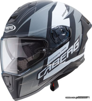 Κράνος Caberg Drift Evo Speedster F3 Matt Black/Anthracite/White