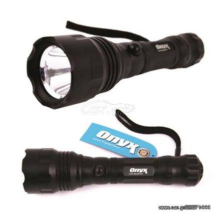 Φακός χειρός LED αδιάβροχος αλουμινίου Υψηλής απόδοσης Onyx 14014