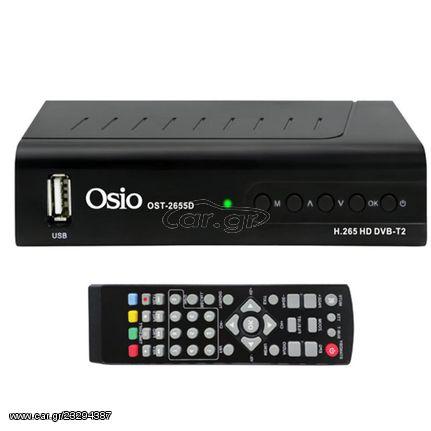 Ψηφιακός δέκτης OSIO OST-2655D με USB | OST-2655D