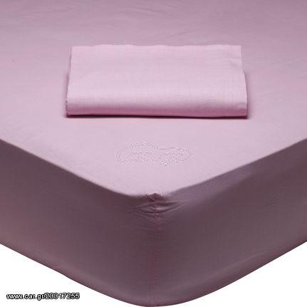 Σεντόνι Υπέρδιπλο με λάστιχο 170x200+35cm DAS COLOUR BEST 1012 ΡΟΖ