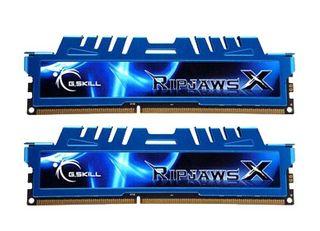G.Skill RipjawsX blue DIMM 8 GB DDR3-2400 Kit