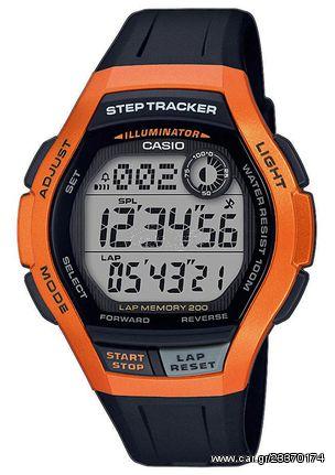 CASIO collection ρολόι unisex μαύρο καουτσούκ λουράκι WS-2000H-4AVEF