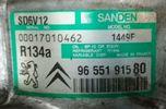 ΚΟΜΠΡΕΣΕΡ  A/C SANDEN  PEUGEOT  BIPPER <AA_>  (02/2008-2014) - BIPPER Tepee  (04/2008-2014) - PARTNER <5F,5>  (06/1996-12/2015)  ΚΩΔ. 96 551 915 80  ,  SD6V12 1449F-thumb-11