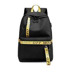 Off white backpack usb