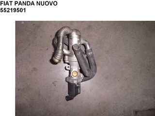 FIAT PANDA NUOVO ΒΑΛΒΙΔΑ EGR 55219501 - ΣΩΛΗΝΩΣΗ ΕΝΑΛΛΑΚΤΗΣ ΘΕΡΜΟΤΗΤΑΣ ( 55197845 )