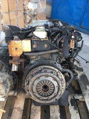 μοτέρ Nissan TD27 turbo με ΜΗΧΑΝΙΚΗ αντλία Navara/Cabstar/Kingcab/Terrano/Maverick + σασμαν Terrano R20 250€