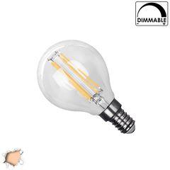 Λάμπα LED E14 G45 Mini Γλόμπος 2W 230V 200lm 320° Edison Filament Retro Θερμό Λευκό 2700k Dimmable