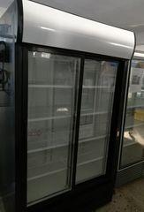 Όρθια Βιτρίνα Συντήρησης Διπλή Αναψυκτικών 1.20m