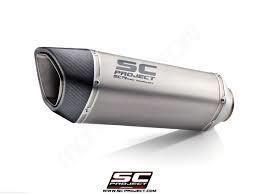 Sc Project  Ολόσωμη Εξάτμιση SC1-M Titanium/Carbon End Kawasaki Z 400 2019