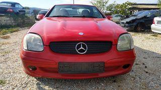 Μουρακι μπροστινο για Mercedes-Benz SLK R170 FACELIFT