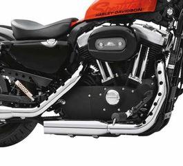 Harley Davidson Sportster Screamin Eagle Buckshot Chrome προστατευτικά εξάτμισης 04-20