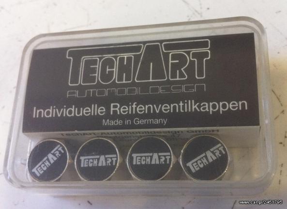 Techart Original καπάκια βαλβίδων αλουμινιου Porsche